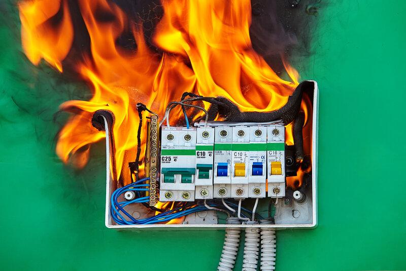 Home Inspection Plano Fire Hazard